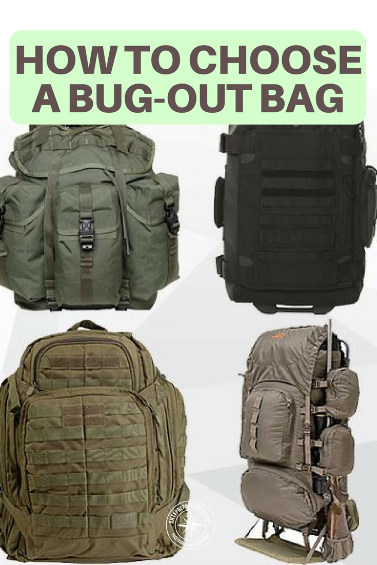 How to Choose a Bug-Out Bag