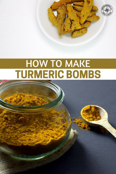 How To Make Turmeric Bombs: An Anti Inflammatory Supplement - I have added Turmeric in my diet for just over 2 years now and my upper back pain is far less than it used to be. Could be coincidence but my money is on the Turmeric.