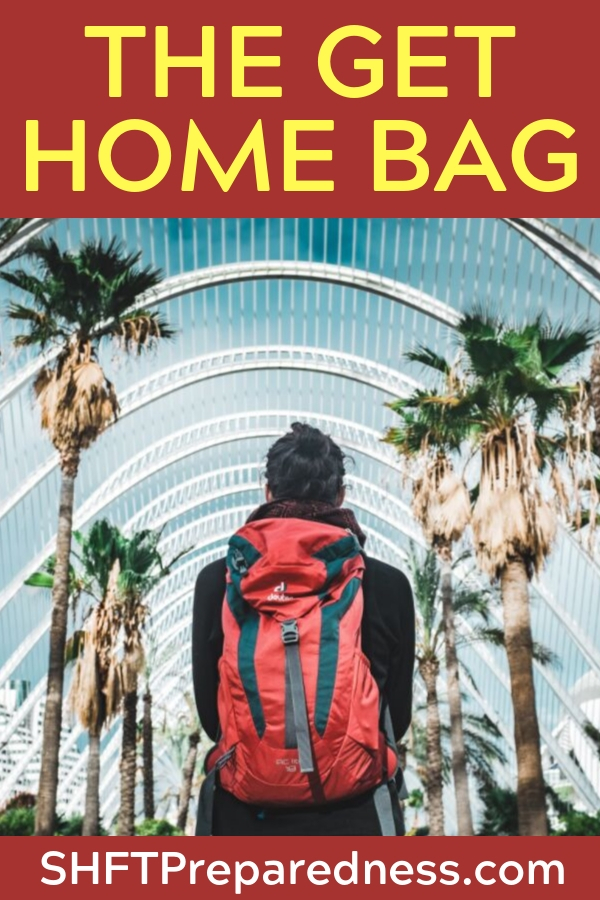 "More Important Than The Bug Out Bag…the ""Get Home"" Bag — The bugout is a perilous situation. There is not getting around the fact that the bugout may be your only option but it also might be your end."
