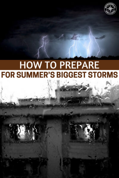 More Than Thunder: How to Prepare for Summer's Biggest Storms - This article speaks to the importance of preparing for one of the most destructive forces in the world. It is one that we know well and one that is highly predictable. To be unprepared for the effects of a hurricane is silly and you should not neglect this level of preparedness.