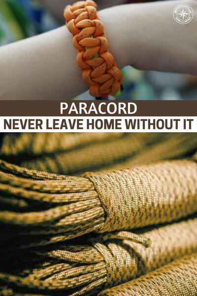 Paracord – NEVER leave home Without it! - This article is a great option for people who are just starting to go deep in the paracord world. The author has some great pictures of what's possible with the cord as well. There are even recommendations on what type of paracord you should buy to create the various projects.