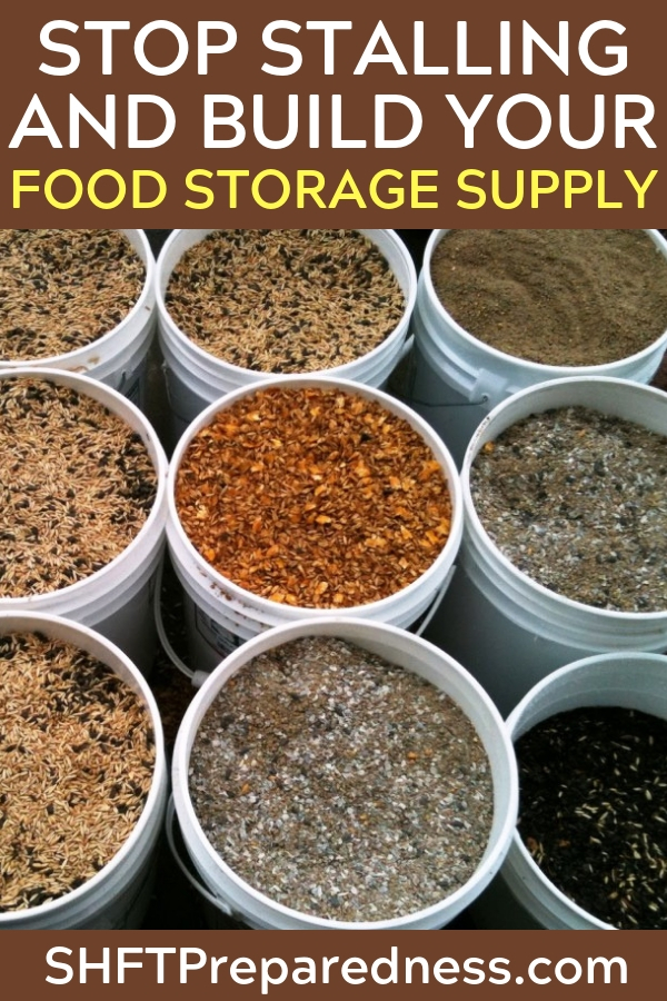 How to Build a 30-Day Emergency Food Supply...Fast - Generally, I write about healthy food. I write about focusing on whole foods without additives, and I firmly believe that is the very best way to build your food supply.  I believe strongly in the value of a pantry that you will use day to day to nourish your family.