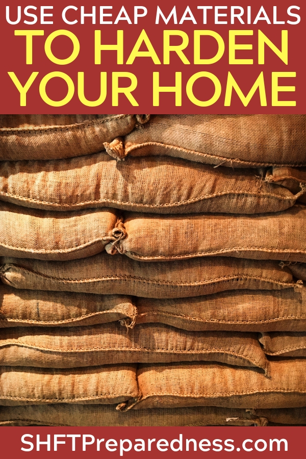 How To Harden Your Home Using the Cheapest Materials on the Market - This article offers a more post apocalyptic look at hardening the home but some of the advice can be used today. There is something to be said about preparing for the worst and living through the best. That is what smart people are doing today. Make preparations and fortify your home.