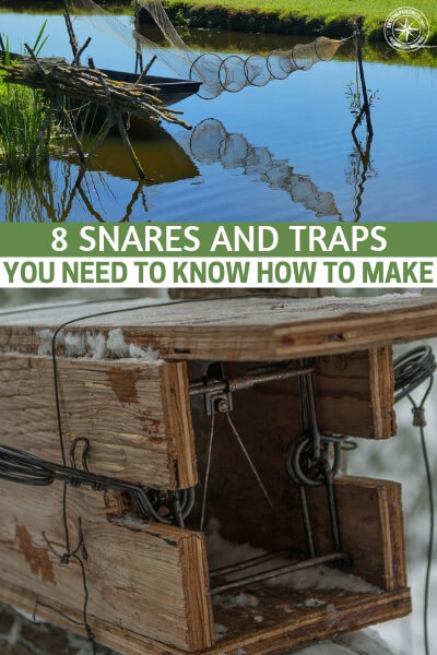 8 Snares And Traps You Need To Know How To Make - See 8 easy traps and snares that I personally think we all should at least have a go at making and getting more familiar with.