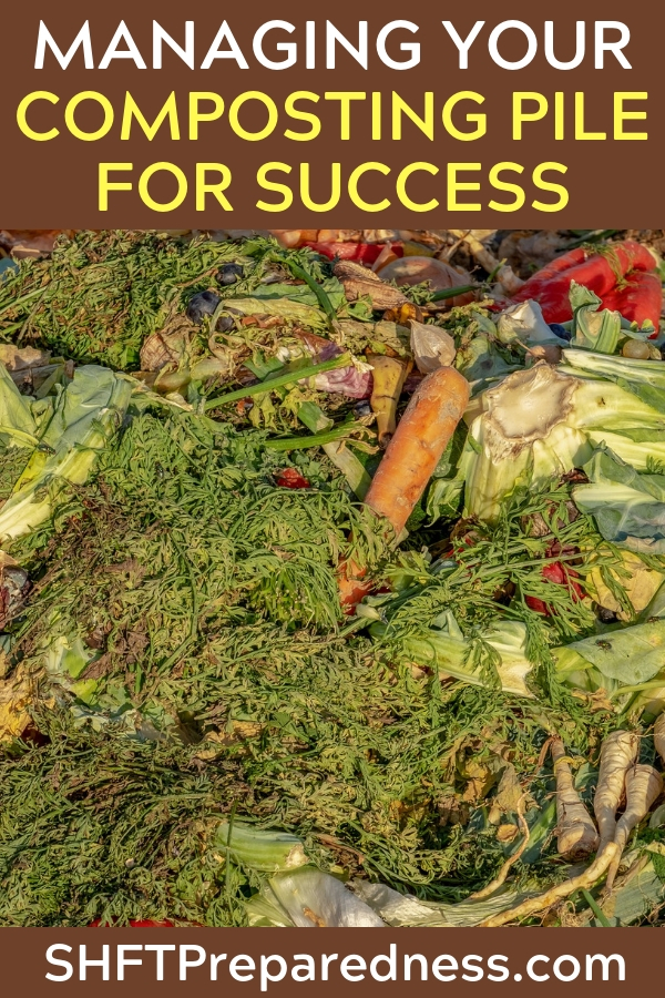 How to Make a Composting Pile -- One of my biggest goals is to create a self sustaining growing environment where the leaves that fall each year and my families food scraps along with chicken droppings create enough food for my plants the following year.