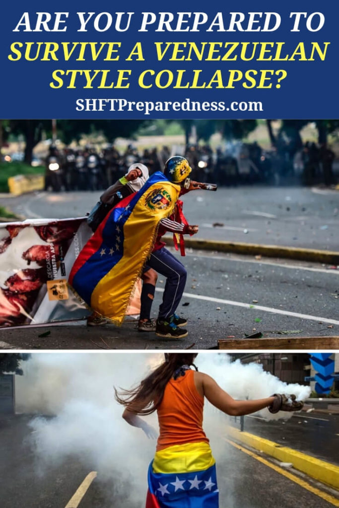 Are You Prepared to Survive a Venezuelan Style Collapse? - This article offers up a look at what we can learn, as preppers, in all of this Venezuelan style collapse. There are some very real issues that were documented and give us a look into some basic commonalities this collapse and a mirrored version in the United States.