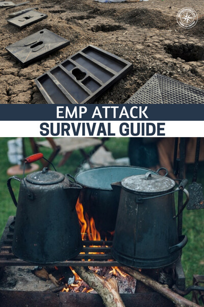 EMP Attack Survival Guide - The world you know is gone and it may be gone forever. Any electronic device more sophisticated than a basic flashlight is more likely fried beyond repair. In moments like these, you are glad you prepared for an EMP attack and you have a survival plan ready to be put in motion.