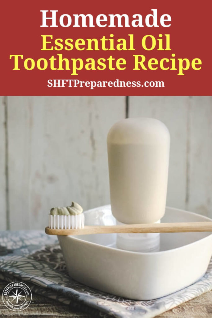 Homemade Remineralizing Toothpaste Recipe - When you are concerning yourself with what you will put in your belly to survive it will be rare that you concern yourself with how you take care of your mouth. Still, oral hygiene is such an incredibly important part of what will keep you healthy in a survival situation.