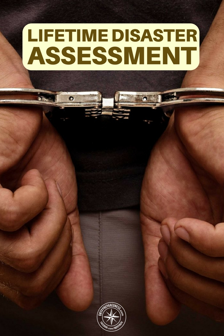 Lifetime Disaster Assessment - There are very few of us who have the underground motel that is packed up for anything. We aren't ready for anything but an assessment will at least point you in the right direction.