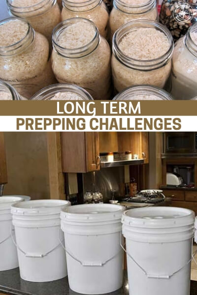 Long Term Prepping Challenges - Its very easy to get started prepping and push it hard for the first 5 years. When you are reading and learning all about the threats and the products that will mitigate those threat things are exciting.