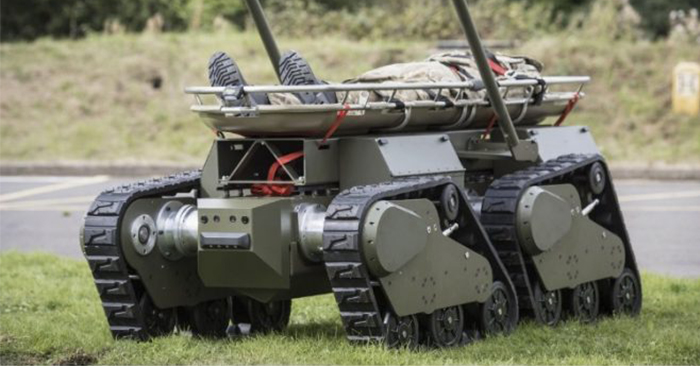 Multirole Armored Robot for Infantry Announced by BAE Systems - As we roll further into the future these robots will begin to make our efforts as humans obsolete. Though a war will not likely be fought between gun toting robots and humans, there will be a very real labor war fought.