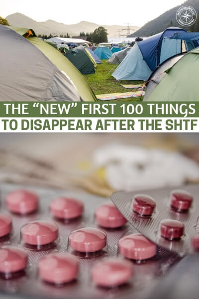 "The ""NEW"" First 100 Things To Disappear After The SHTF - After reading this article you may want to take a look at your own inventory sheets and decide if you have everything you need on them. It could be that reading this author's works spurs something in you to get a little more prepared."