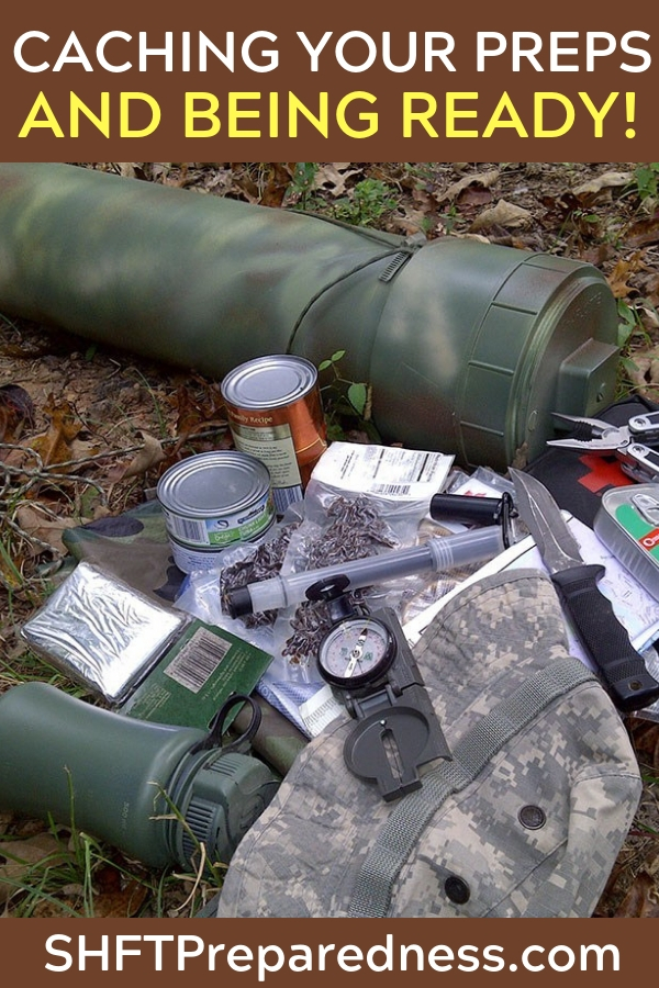 Things to Consider When Burying A Survival Cache - A cache is a secret hiding place where valuables are hidden with the assumption you would come back at some point to retrieve what you have cached. Caches do not have to be buried in the ground necessarily but burying asurvival cachein the ground makes sense in most situations.