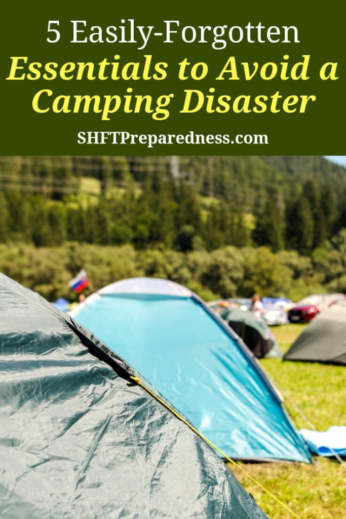 5 Easily-Forgotten Essentials to Avoid a Camping Disaster - According to recent reports, about 40 million Americans enjoy camping every year and more than 34 million go hiking. But anyone who's been out beyond their own backyard knows how quickly a good adventure can turn bad. Especially if you're not prepared.