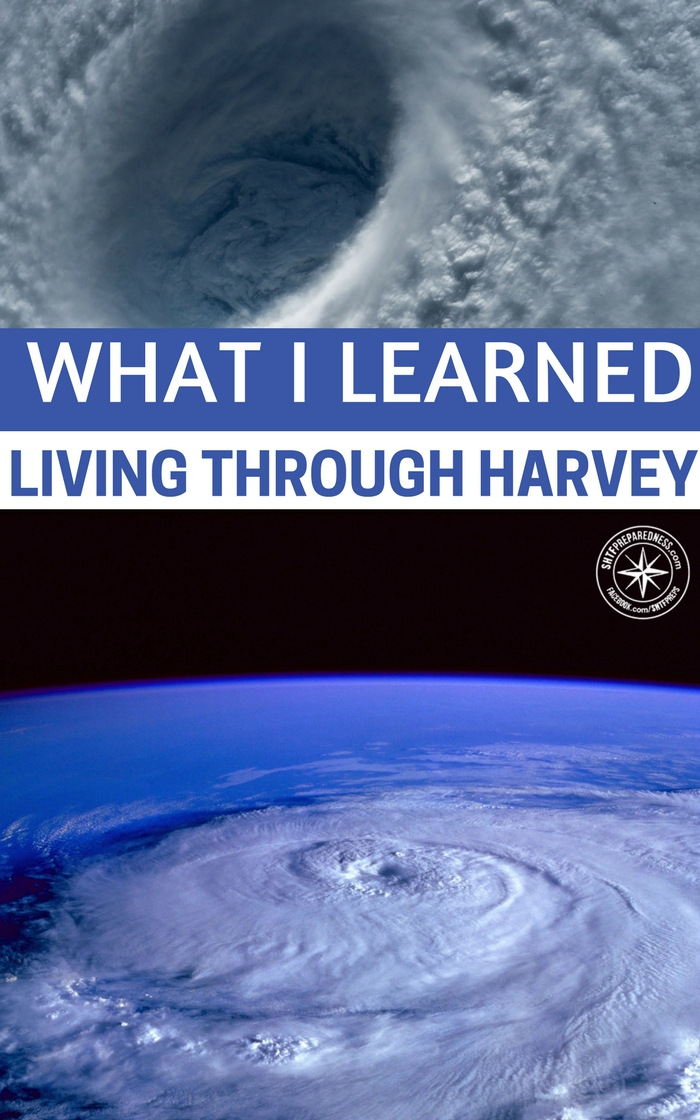 What I Learned Living Through Harvey -- Easily the most effective study on preparedness in American the recent hurricanes have changed everything. There were an in depth look at how the U.S Government and the people of the nation would react to serious disasters.