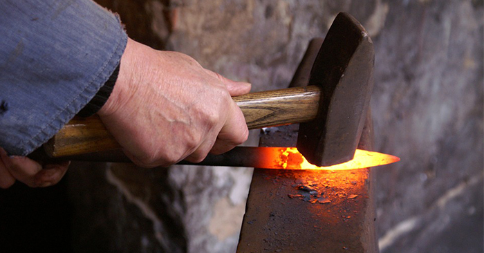 Blacksmithing Lessons – Learn to Forge Your Own Metal Creations - It is truly an amazing thing to be able to pull ore from the ground and turn that into a knife or a tool. What could be more impressive?