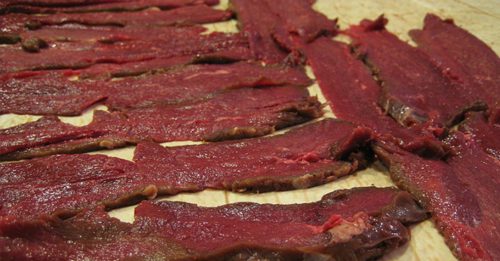 Deer Jerky in the Oven – Hunter's Food - Once the meat is dry, its dry. The way you get there is not as important. I would recommend learning how to do it outside using a fire and smoke but this method is great, too! Start preserving more of your food!