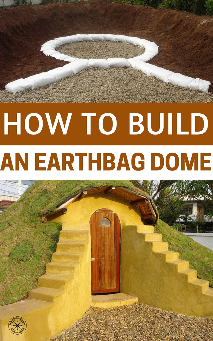 How to Build an Earthbag Dome - The earthbag structure is something that we don't often see in America. It is easily the most efficient building method in the world.