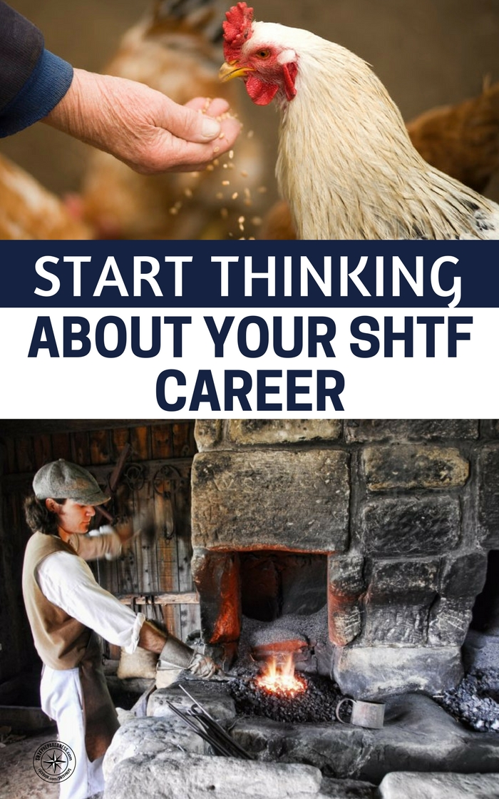 Start Thinking About Your SHTF Career - What about automation? Is your job going to be taken by a robot? What happens if you are out of a job in 5 years. You still have to survive. What if radical rioters burn your company to the ground? Are you prepared to make yourself valuable in the shaken world?