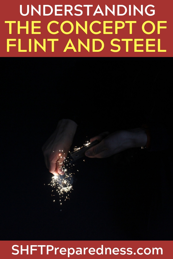 How To Make And Start A Fire With Flint & Steel - Learn how to find and make the flint from flint, chert or quartz and how to strike the steel on the flint correctly, thus creating sparks to direct at your tinder and blow into a fire.