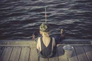Catch A Fish: Basic Survival Fishing -- Easily the best source of protein in a survival situation, fish are there for the taking. If the waters haven't been poisoned beyond recognition you are going to have access to an incredible amount of protein via fishing.