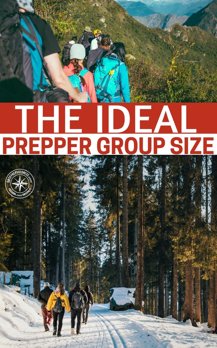 The Ideal Prepper Group Size — There are topics of fiery debate in the prepper world. One such debate is that of the prepper group. Some people are bent on having the perfect group with the perfect skill set.