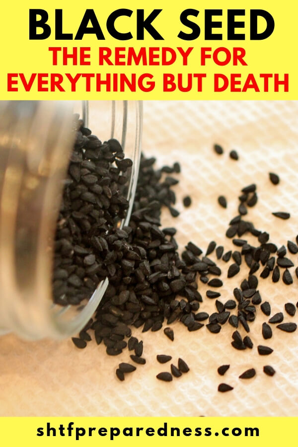 Black Seed The Remedy For Everything But Death — Historically, black seed has been used for treating many different ailments including headache, toothache, intestinal worms, pink eye and parasites. Today, black seed is used for a huge variety of issues including allergies, constipation, diarrhea, colic, fle and congestion among many others.