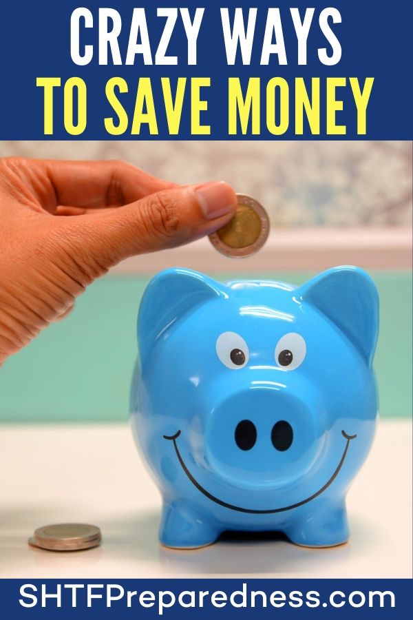 "Crazy Ways to Save Money - When it comes to living, what many have coined, ""the simple life"" it seems that frugality is way up on the list. This trait is what makes a homesteaders experience so important to a prepper."