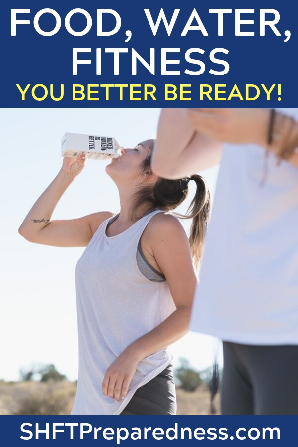 Prepper Fitness Should Be Top Of Your Preps List - This article offers some interesting information on the topic of prepper fitness. If you haven't set your preparedness fitness goals yet that should be your first step. If you are already fit then set the bar high. If not then start small. As long as you can measure your progress you will consistently get better.