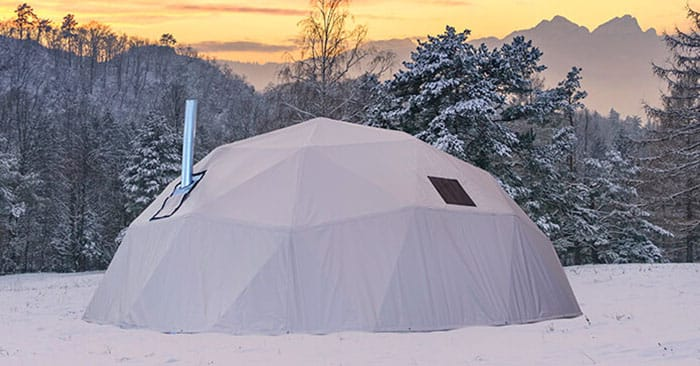 Why Geodesic Shelters Make the Best Emergency Shelters - I think the rubber really meets the road when you look at price on these things. When you are burying a shelter in the ground you have to rent all sorts of equipment before you even begin to factor in the cost of these wicked steel bunkers.