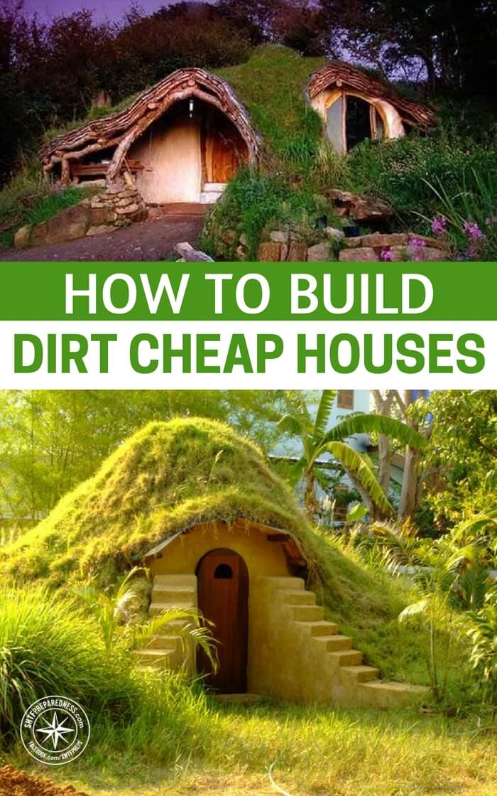 How to build dirt cheap houses for Cheap homes to build