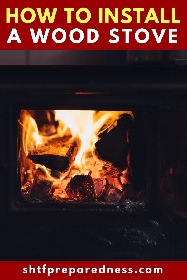 How to Install a Wood Stove -- The cold winter is quickly approaching. I was talking to Glen Martin a survival author and owner of the Prepper Broadcasting Network. On Wednesday he was watching the first snowfall in his area.