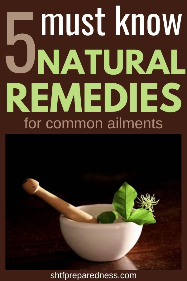 Must know natural remedies for common ailments