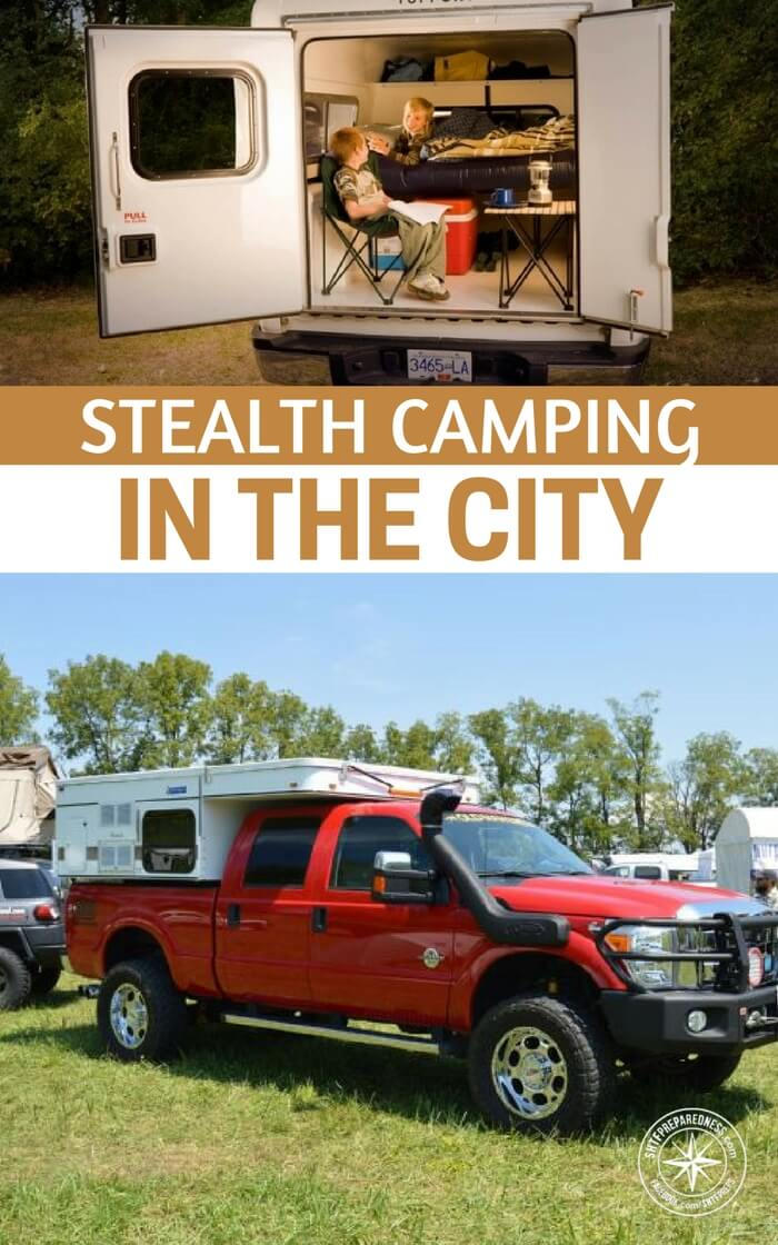Stealth Camping In The City
