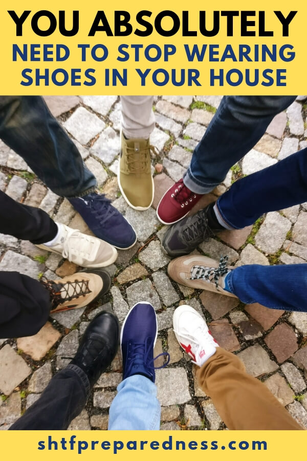 This Is Why You Absolutely Need To Stop Wearing Shoes In Your House - Read on to learn about all of the interesting (disgusting) things that you will find on the bottom of your shoes and cause you to never wear them in the house again: