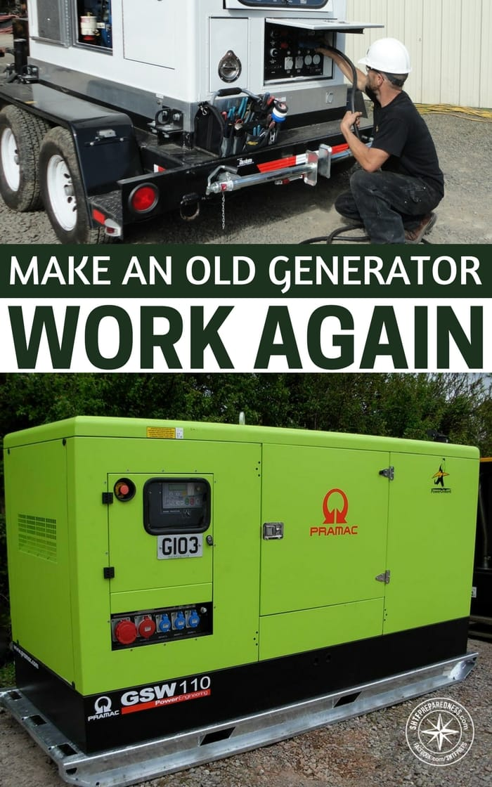 From Trash To Treasure: Make An Old Generator Work Again - So, what happens when that generator stops working. If you are like most people you aren't checking the generator every month. You may not even be doing basic maintenance on it. The generator just turns on when you need it and off when you don't.