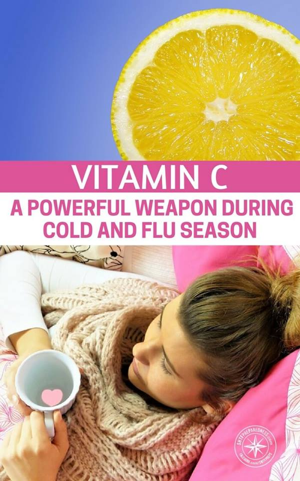 Vitamin C: A Powerful Weapon During Cold and Flu Season -- If you are the type of person who reads the news and scoffs at vitamins I feel bad for you. You are listening to idiots, you are under dosing and you are forfeiting a real benefit to the human body. The problem with Vitamin C is that people thing that the 500mg capsule is the only option.