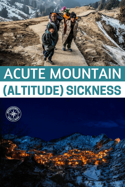 Acute Mountain (Altitude) Sickness - I really like this article because it touches on an issue that many preppers headed for the mountains will face. Despite dealing with the heightened fatigue and other things that come with traveling at a higher altitude, someone in your party could be stricken with altitude sickness.