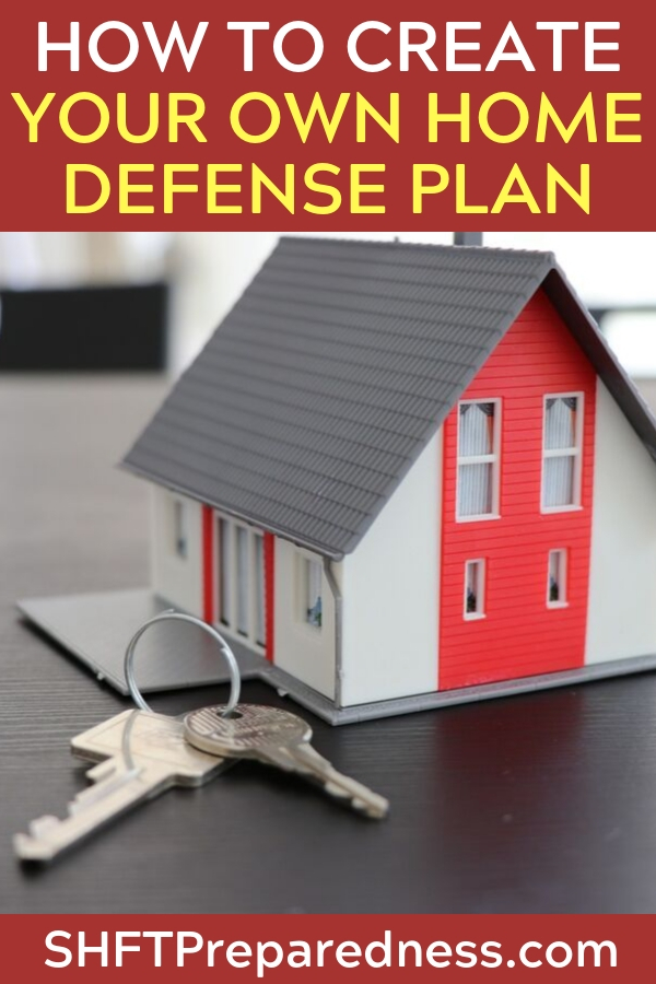 How to Create Your Own Home Defense Plan - This article lays out some very important pieces of the home defense puzzle. I will say that everyone's home is different and requires a unique plan. Its up to you as the home owner to identify points of entry and weaknesses in your home. Bad guys will do this. Be prepared.