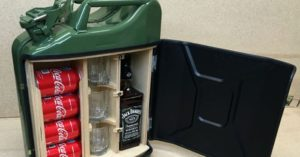 How to Make a Hidden Compartment From Jerry Can - The build looks pretty simple and is laid out with an easy to understand step by step process. These DIY projects are a lot of fun and can be highly effective.