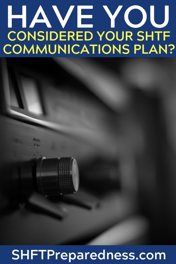 Have You Considered Your SHTF Communications Plan? - Do me a favor. Take a look at this article and explore the many options you have to increase communications. Think of it as gathering intelligence.