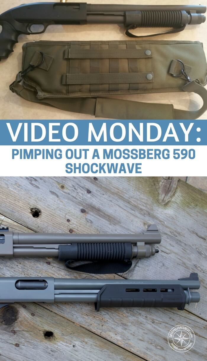 Video Monday: Pimping out a Mossberg 590 Shockwave - If you are up for a great video on moding a weapon you will enjoy this article and video combo. It may give you some ideas and inspirations about what to do with your own weapons. You could find that this is just the mod for you as well.