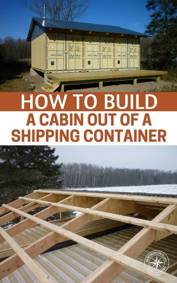 Container -- If you have been following me for a while you will know I have posted a few great articles that went viral about shipping containers. If you missed them check them out before reading this article. How To Buy A Shipping Container and Why You Shouldn't Bury A Shipping Container Bunker Underground