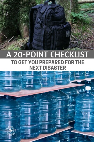 A Disaster is Coming! A 20-Point Checklist to Get You Prepared for the Next Disaster! - You have to be honest with yourself. You have to admit you need improvements in some areas. If you can do that, you will get the most out of this checklist. There is always time to get better but you have to know where to improve.