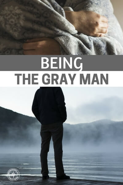 Being the Gray Man - This article comes from some of the most elite fighters in the world. If you are looking for an article that has an edge in the gray man topic this is the one. You will find a great article that takes the gray man theory and explains it from a first person point of view.
