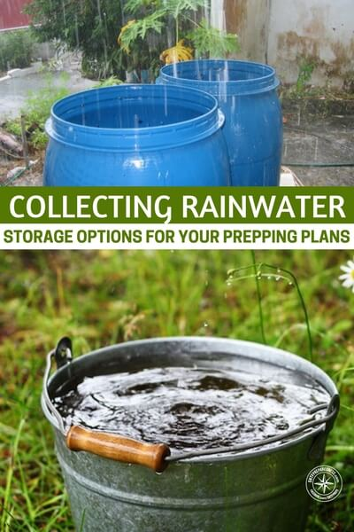 Collecting Rainwater – Storage Options For Your Prepping Plans - We allow it to fall and waste away without realizing the immense benefit and improvement it could bring to our lives. A sign of how important water is, it's actually the ridiculous fact that in most places you actually have to pay for clean water.