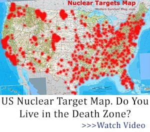 US Nuclear Target Map. Do You Live in the Death Zone?