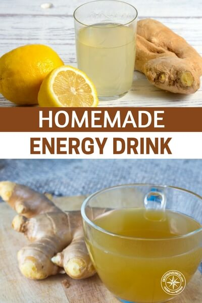 Homemade Energy Drink - This is a link to three real energy drinks. Ones that can be made at home and will actually improve your nutrition. They will not carry the ugliness of the high fructose, carbonated chemistry that goes into those energy drinks.