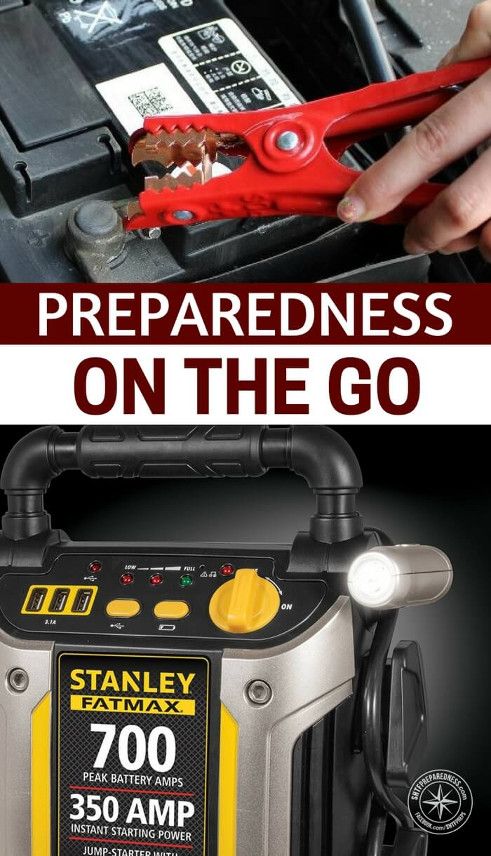 Preparedness On the Go - This article looks to tackle some basic preps on the go. Its a concept that we must spend more time understanding. How would you react if you were at work and something serious occurred. Could you get home. What if you had to get home on food.