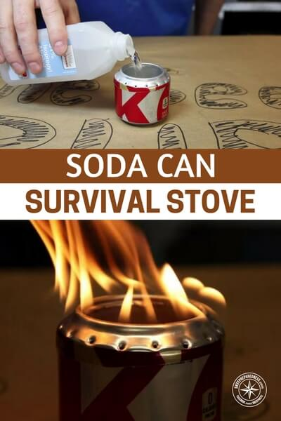 Soda Can Survival Stove - This is a step by step process that will offer you a way to build a legitimate stove that can be made using soda cans. You can boil water, cook food and even heat yourself in a survival situation.